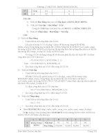 GIÁO TRÌNH TIN HỌC CĂN BẢN - ĐẠI HỌC CẦN THƠ 4 docx