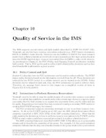 Chapter 10 - Quality of Service in the IMS ppt