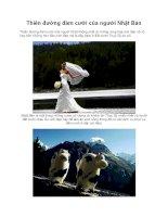 Thiên đường đám cưới của người Nhật Bản potx