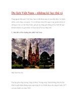 Du lịch Việt Nam – những kỷ lục thú vị pot