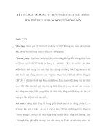 KỸ THUẬT CẮT BỜ ĐỒNG TỬ TRONG PHẪU THUẬT NHŨ TƯƠNG HOÁ THỂ THUỶ TINH CÓ ĐỒNG TỬ KHÔNG DÃN pdf