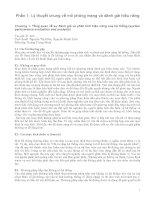 Phần 1: Lý thuyết chung về mô phỏng mạng và đánh giá hiệu năng ppsx