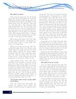 """BÁO CÁO MÔI TRƯỜNG QUỐC GIA 2006 """"HIỆN TRẠNG MÔI TRƯỜNG NƯỚC 3 LƯU VỰC SÔNG CẦU, NHUỆ - ĐÁY, HỆ THỐNG SÔNG ĐỒNG NAI"""" part 3 pot"""