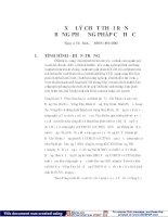 Xử lý chất thải rắn bằng phương pháp cơ học ppt