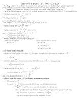 Vật lý 12 - Động lực học vật rắn pdf