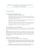 Phân tích chiến lược Marketing của công ty Vinamilk