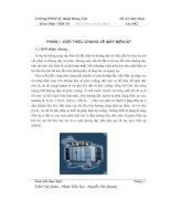 Quy trình chế tạo máy biến áp ba pha