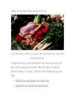Thức ăn phòng chống tăng huyết áp pdf