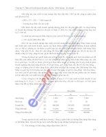 quy trình trình bày mối quan hệ giữa các thông tin kế toán theo dạng phương trình p5 doc