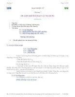 Bài giảng mạch điện tử - chương 7 pdf