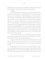 Luận văn : GIẢI PHÁP CHỦ YẾU NHẰM ĐÁP ỨNG NHU CẦU VIỆC LÀM CỦA LAO ĐỘNG NÔNG THÔN HUYỆN ĐỒNG HỶ TỈNH THÁI NGUYÊN part 4 potx