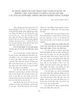 SỰ KHÁC BIỆT GIỮA KẾ TOÁN VIỆT NAM VÀ QUỐC TẾ TRONG VIỆC GHI NHẬN VÀ BÁO CÁO VỀ GIÁ TRỊ CÁC TÀI SẢN SINH HỌC TRONG DOANH NGHIỆP NÔNG NGHIỆP pot