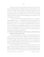 Luận văn : ẢNH HƯỞNG CỦA VIỆC TIẾP CẬN NGUỒN NƯỚC ĐẾN THU NHẬP CỦA HỘ NÔNG DÂN XÃ TÂN LẬP, HUYỆN CHỢ ĐỒN, TỈNH BẮC KẠN part 8 pptx