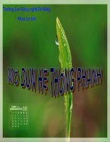 Bài 6 SỮA CHỮA VÀ BẢO DƯỠNG DẪN ĐỘNG PHANH BẰNG KHÍ NÉN pot