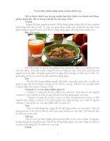 7 loại thực thẩm giúp tăng cường chiều cao