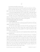 Luận văn : ẢNH HƯỞNG CỦA VIỆC TIẾP CẬN NGUỒN NƯỚC ĐẾN THU NHẬP CỦA HỘ NÔNG DÂN XÃ TÂN LẬP, HUYỆN CHỢ ĐỒN, TỈNH BẮC KẠN part 4 pps