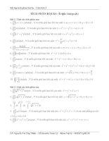 Bài tập tích phân bội ba pot