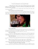 7 lý do nên uống 1 ly rượu nho mỗi ngày