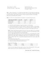 Đề thi quản trị tài chính ppsx