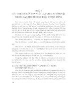 Các Quá Trình Và Thiết Bị Công Nghệ Sinh Học Trong Công Nghiệp [Chương 10: Các Thiết Bị Lên Men Nuôi Cấy Chìm Vi Sinh Vật Trong Các Môi Trường Dinh Dưỡng Lỏng] docx