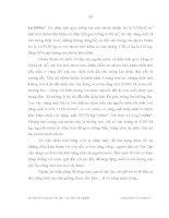 Luận văn : ẢNH HƯỞNG CỦA VIỆC TIẾP CẬN NGUỒN NƯỚC ĐẾN THU NHẬP CỦA HỘ NÔNG DÂN XÃ TÂN LẬP, HUYỆN CHỢ ĐỒN, TỈNH BẮC KẠN part 7 ppt