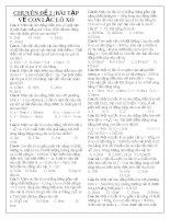 Chuyên đề 2 : Bài tập về con lắc lò xo ppsx