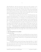 Luận văn : GIẢI PHÁP PHÁT TRIỂN SẢN XUẤT KINH DOANH NƯỚC SẠCH TẠI CÔNG TY TRÁCH NHIỆM HỮU HẠN MỘT THÀNH VIÊN KINH DOANH NƯỚC SẠCH THÁI NGUYÊN part 2 doc