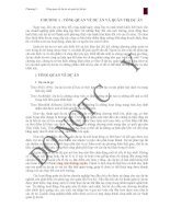 Chương 1 -Tổng quan về dự án và quản trị dự án potx