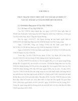 Luận văn : THỰC HIỆN THỦ TỤC HẢI QUAN ĐIỆN TỬ ĐỐI VỚI HÀNG HÓA XUẤT KHẨU, NHẬP KHẨU TẠI CỤC HẢI QUAN THÀNH PHỐ HỒ CHÍ MINH THỰC TRẠNG VÀ GIẢI PHÁP part 4 docx