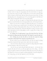 Luận văn : THỰC TRẠNG VÀ MỘT SỐ GIẢI PHÁP NHẰM TẠO VIỆC LÀM CHO NGƯỜI LAO ĐỘNG NÔNG THÔN THÀNH PHỐ THÁI NGUYÊN part 7 pot