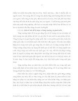 Luận văn : THỰC TRẠNG VÀ MỘT SỐ GIẢI PHÁP NHẰM PHÁT TRIỂN NGÀNH NÔNG LÂM NGHIỆP THUỶ SẢN TỈNH VĨNH PHÚC part 2 pptx
