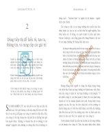Kotler bàn về tiếp thị- Tiếp thị chiến lược-p2 docx