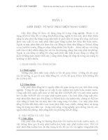 [Đồ Án] Thiết Kế Máy Phát 3 Pha - Hệ Thống Ổn Định Cho Máy Phát phần 1 doc