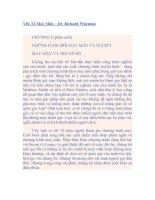 Yếu tố may mắn - Chương 2 (p.final) docx