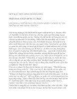 HẸN BẠN TRÊN ĐỈNH THÀNH CÔNG-PHẦN 2-CHƯƠNG 4 ppt
