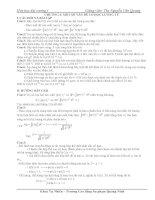 Hóa đại cương 1 - Bài tập chương 3 ppsx