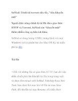 SoMud: Trình tải torrent siêu tốc,