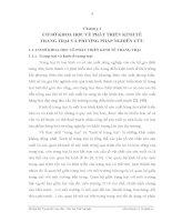 Luận văn : THỰC TRẠNG VÀ GIẢI PHÁP CHỦ YẾU NHẰM PHÁT TRIỂN KINH TẾ TRANG TRẠI TẠI ĐỊA BÀN HUYỆN ĐỒNG HỶ, TỈNH THÁI NGUYÊN part 2 doc