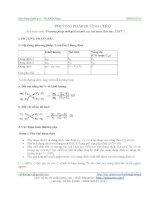 Phương pháp đường chéo trong hóa học pdf