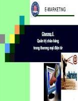Chương 5 - Quản trị chào hàng trong thương mại điện tử pps