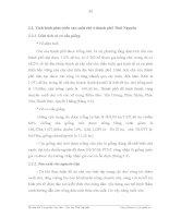 Luận văn : THỰC TRẠNG VÀ NHỮNG GIẢI PHÁP CHỦ YẾU NHẰM PHÁT TRIỂN SẢN XUẤT CHÈ TẠI THÀNH PHỐ THÁI NGUYÊN part 6 docx