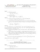 Đề thi toán vào lớp 10 chuyên Hà Nội docx