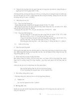 Kiểm Tra Giám Sát Chất Lượng Vật Liệu Xây Dựng (VLXD) Trong Thi Công Và Nghiệm Thu Công Trình - PGS TS.Cao Duy Tiến phần 8 pot
