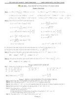 Tài liệu tổng hợp kiến thức và bài tập ôn thi tốt nghiệp 2011 môn toán potx
