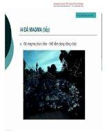 [Slide Bài Giảng Địa Chất Học] Cấu Tạo Địa Chất - Pgs.Ts.Phạm Hữu Sy phần 6 ppsx