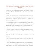 SẢN XUẤT GIỐNG KHOAI TÂY SẠCH BỆNH Ở MỘT SỐ NƯỚC TIÊN TIẾN pps
