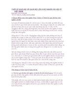 THỜI KÌ QUÁ ĐỘ VÀ QUÁ ĐỘ LÊN CHỦ NGHĨA XÃ HỘI Ở VIỆT NAM pps
