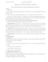Chương I: CƠ CHẾ DI TRUYỀN VÀ BIẾN DỊ GEN, MÃ DI TRUYỀN VÀ QUÁ TRÌNH NHÂN ĐÔI ADN potx