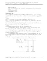 Đề cương ôn tập môn: Tự động hóa Kỹ thuật lạnh & Điều hòa không khí ppt