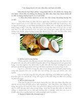 7 tác dụng của dầu dừa mà bạn nên biết